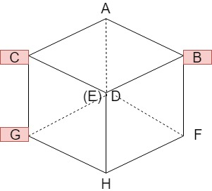 立方体の切断2