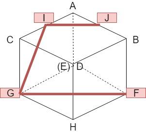 立方体の切断3-2