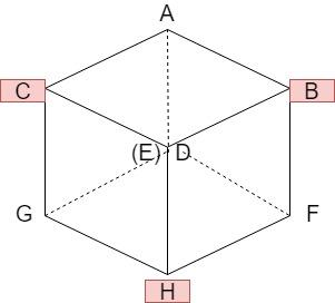 立方体の切断1
