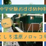 中学受験おすすめ列車:くしろ湿原ノロッコ号[道東を満喫したい!]